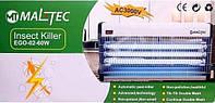 Промышленый уничтожитель летающих насекомых (электромухоловка) Maltec EGO-03-60W