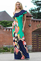 Шикарное изысканное яркое платье в пол