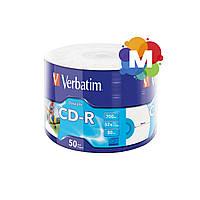 VERBATIM CD-R 700Mb 52x Wrap 50 pcs