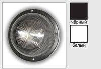 Свет-к LEMANSO круг метал. 100W без реш. BL-1101 белый/черный