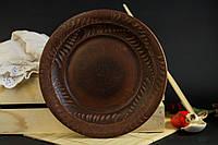 Тарелка глиняная Колосок