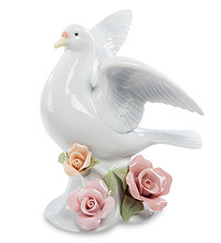 Коллекция CMS. Фарфоровые фигурки Птиц (лебеди, голуби и др.)