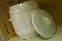 Керамический бочонок для солений