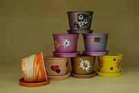 Цветочный горшок Конус, в ассортименте