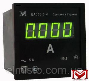 Амперметры цифровые ЦА 0204-2, ЦА 0303-2 Мегомметр переменного тока, кл.т.1,0 (96х96х62мм)