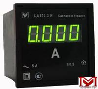 Амперметры цифровые ЦА 0204-3, ЦА 0303-3 Мегомметр постоянного тока, кл.т.1,0 (72х72х65мм)