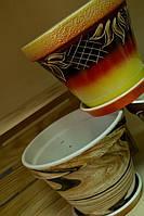Цветочный горшок Конус, 2,5 л. в ассортименте