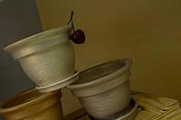 Цветочный горшок Колокол царапка, в ассортименте