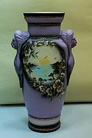 Напольная ваза Дора акрил, сиреневая