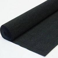 Бумага гофрированная черная 701526 Вересня