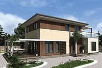 Двухэтажный дом «проект 09» 156,6 м2