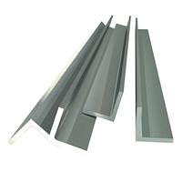 Уголок алюминиевый АМГ5 ПР 100-7*6000 25х25х2
