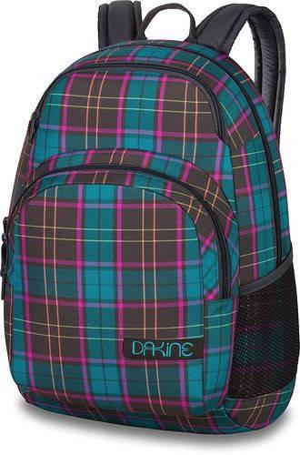 Надежный городской рюкзак в клеточку для девушки Dakine HANA 26L sanibel 610934897630 разноцвет