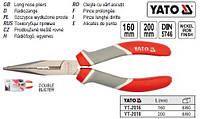 Щипцы YATO Польша тонкие l=160 мм YT-2016