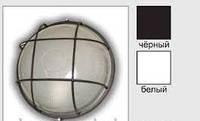 Свет-к LEMANSO круг метал. 60W с реш. BL-1102 белый/черный