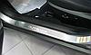 Накладки на пороги Subaru Outback IV 2009- 2шт. premium