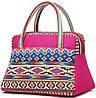 Замечательная женская сумка из текстиля Traum 7214-07, розовый