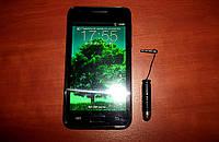 "HTC i9100S OC Android, GPS, Wi-Fi 4,3"" (Duos, 2 sim) + стилус в подарок"