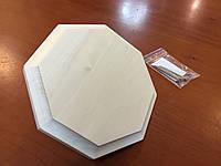 Вентиляционная заглушка для сауны восьмиугольная липа, фото 2