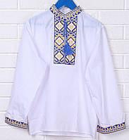 Вышитая рубашка для мальчика Тризуб (подросток)