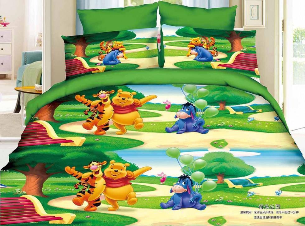 Детское постельное белье Винни Пух (Турция)