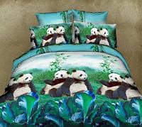 Детское постельное белье Панда (Турция)