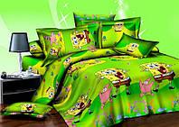 Детское постельное белье Спанч Боб (Турция)