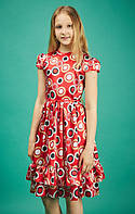 Детское шелковое платье