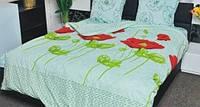 Качественное постельное белье двуспальное (хлопок)