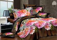 Качественное постельное белье евро размер (сатин)