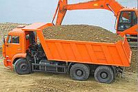 Реализация песка, отсева и строительной глины с доставкой
