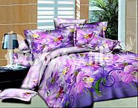 Красивое постельное белье евро размер (ранфорс)