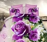 Красивый комплект постельного белья из сатина