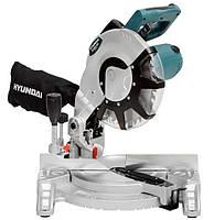 Торцовочная пила HYUNDAI M 2000-255 с лазерной направляющей