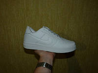 Кроссовки Nike Air Force 1 White Mid (Зам кожа)