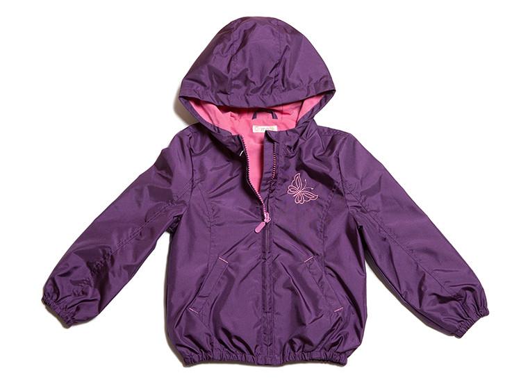 Курточка-ветровка для девочек (размеры 104-134)