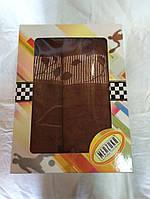 Набор качественных полотенец Шоколад