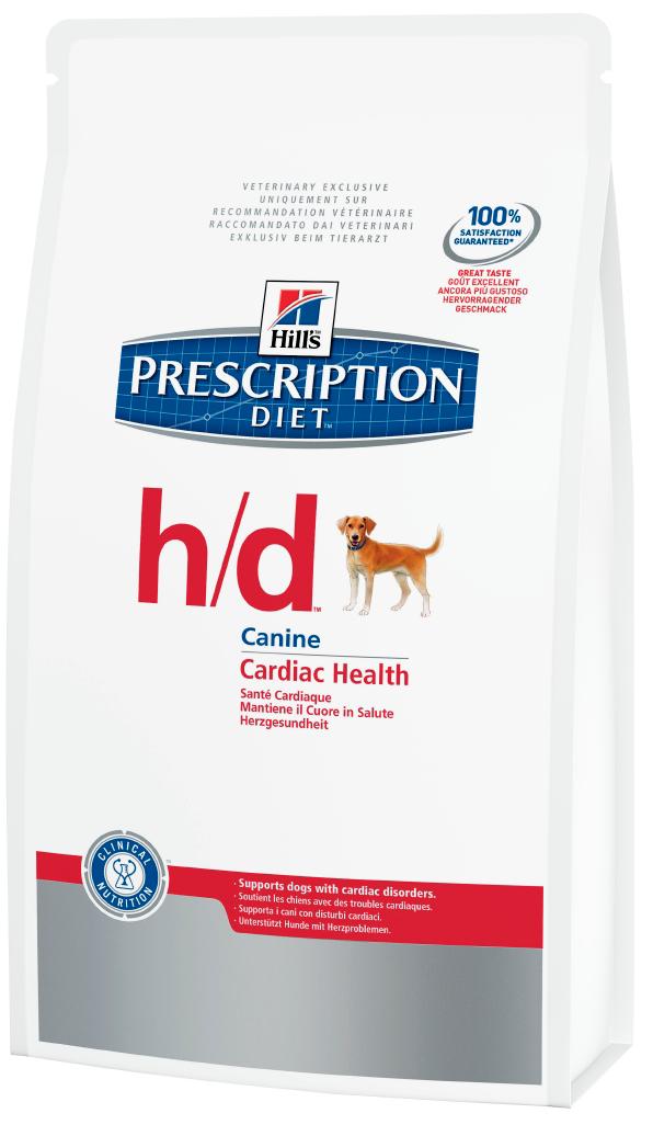 Лечебный корм для собак при отёках Hills Diet h/d