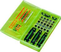 Мушка Dead Ringer PRO-PACK набор 5 мушек, 10 цветн. вставок, кейс д/хранения