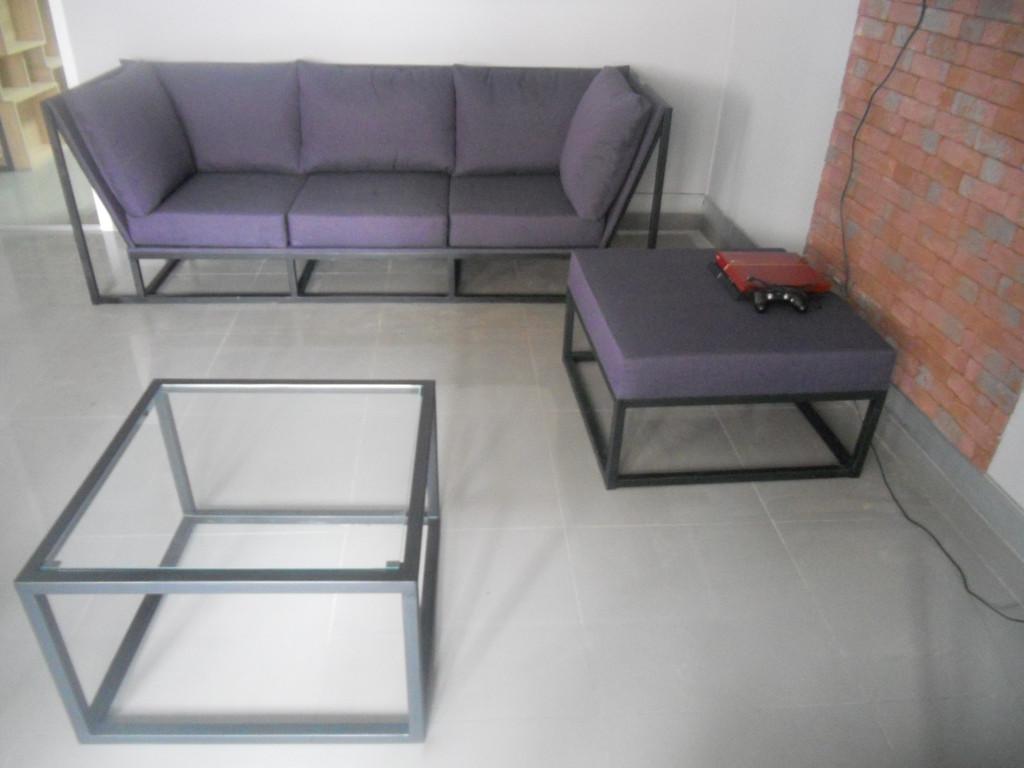 Мяка мебель на металевому каркасі. 1