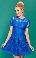 Оригинальное модное платье из органзы