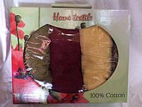 Подарочный набор полотенец из хлопка