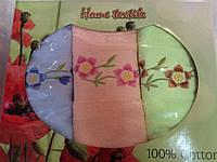 Подарочный набор хлопковых полотенец (3 шт)