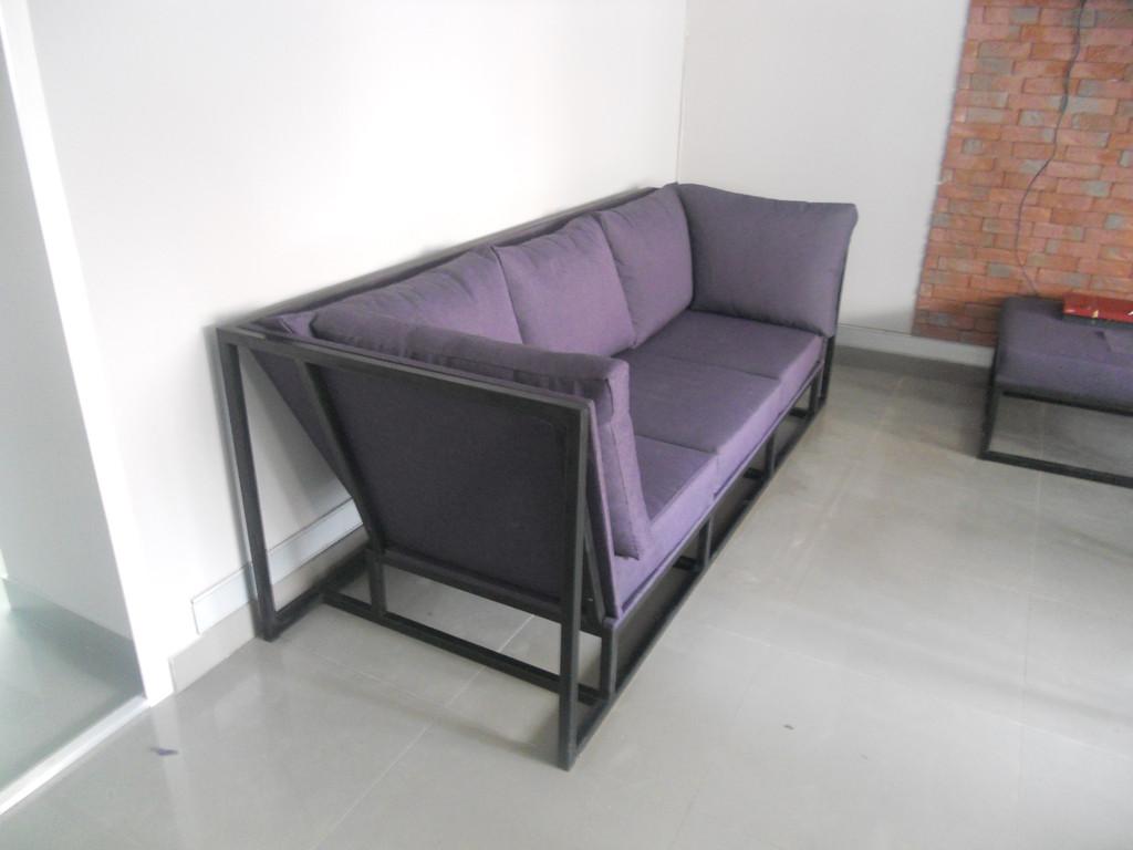 Мяка мебель на металевому каркасі. 4