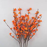 Цветы искусственные из 5 веток со светодиодной подсветкой F1