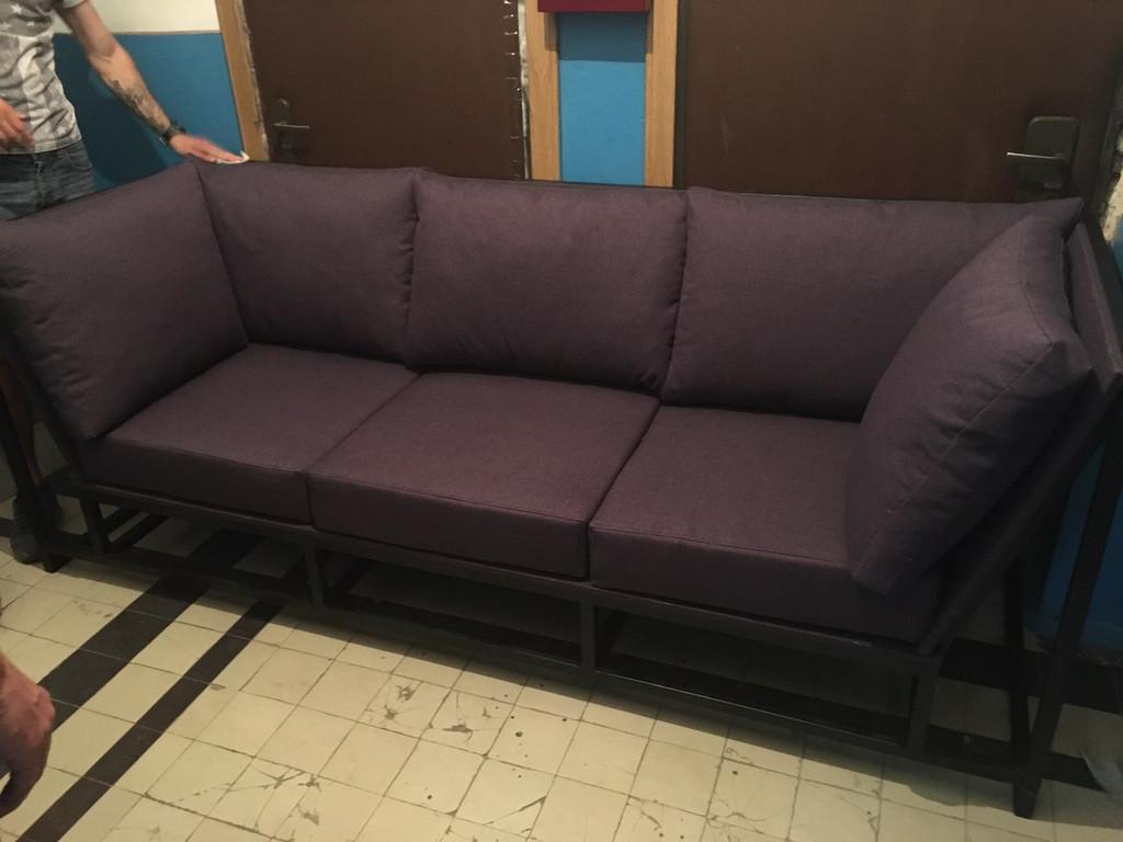 Мяка мебель на металевому каркасі. 6