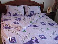 Семейный комплект качественного постельного белья