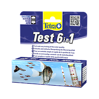 Tetra Test 6in1 Набор тестов для проверки 6 показателей качества воды