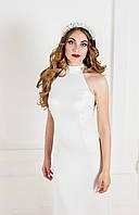 Белое свадебное платье с открытой спиной K 34-1
