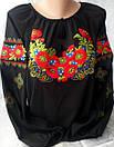 Вышиванка женская из шифона   ЖТ19 , фото 6